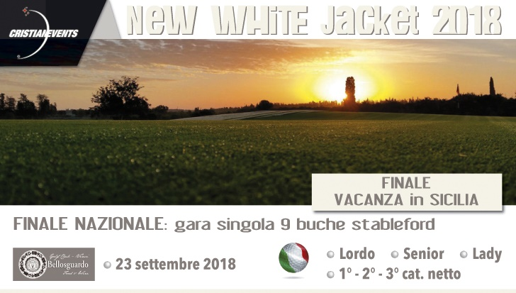 White Jacket – Martedì 12 giugno