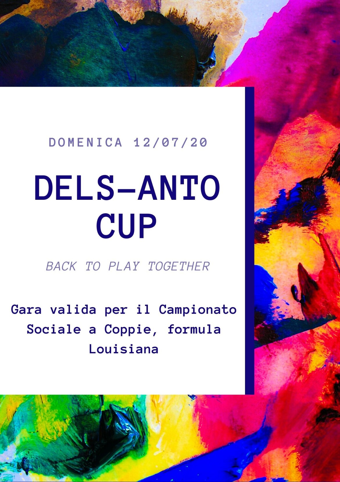 DELS-ANTO CUP 2020 back to play together