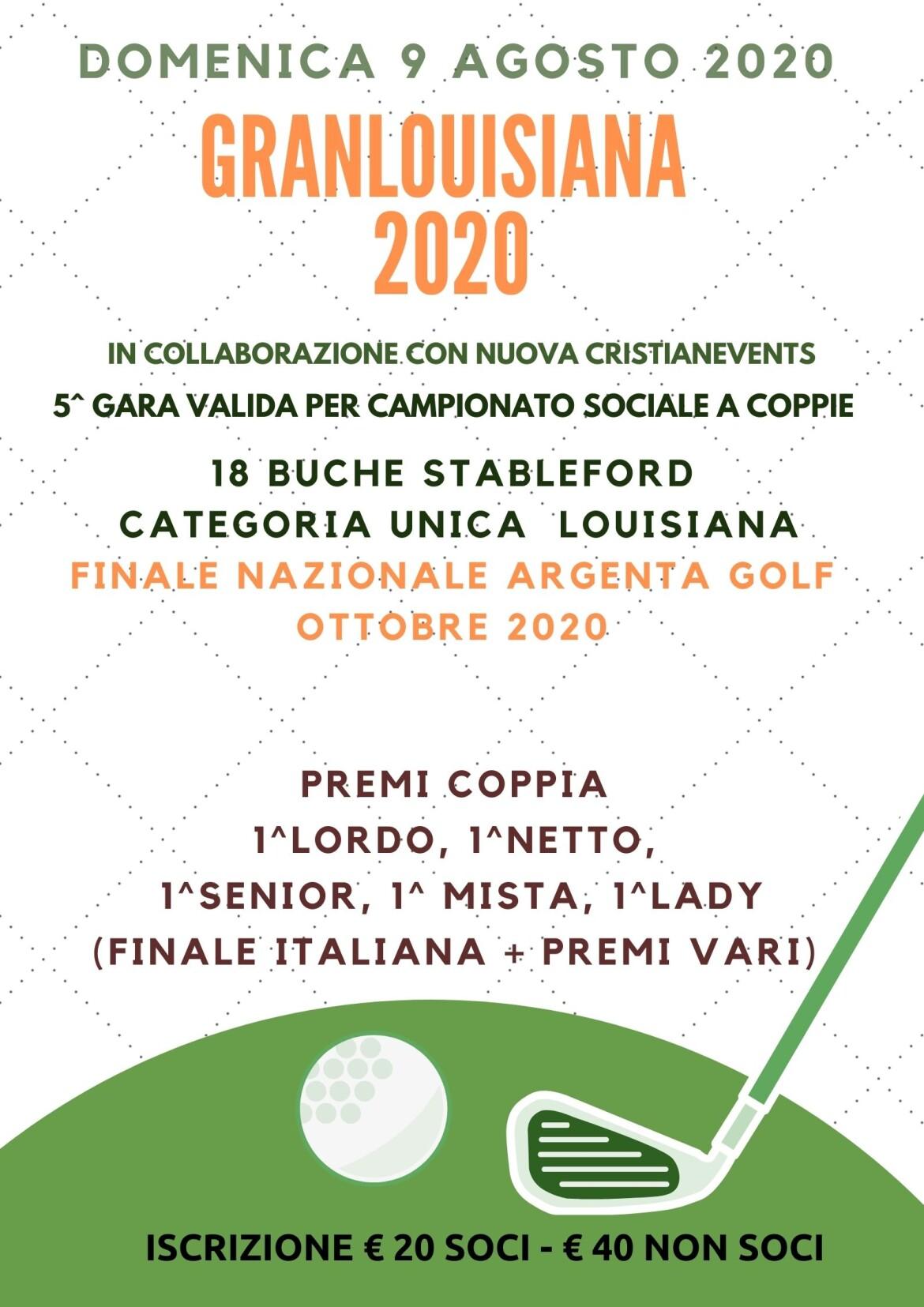 Granlouisiana 2020 by nuova Cristianevents