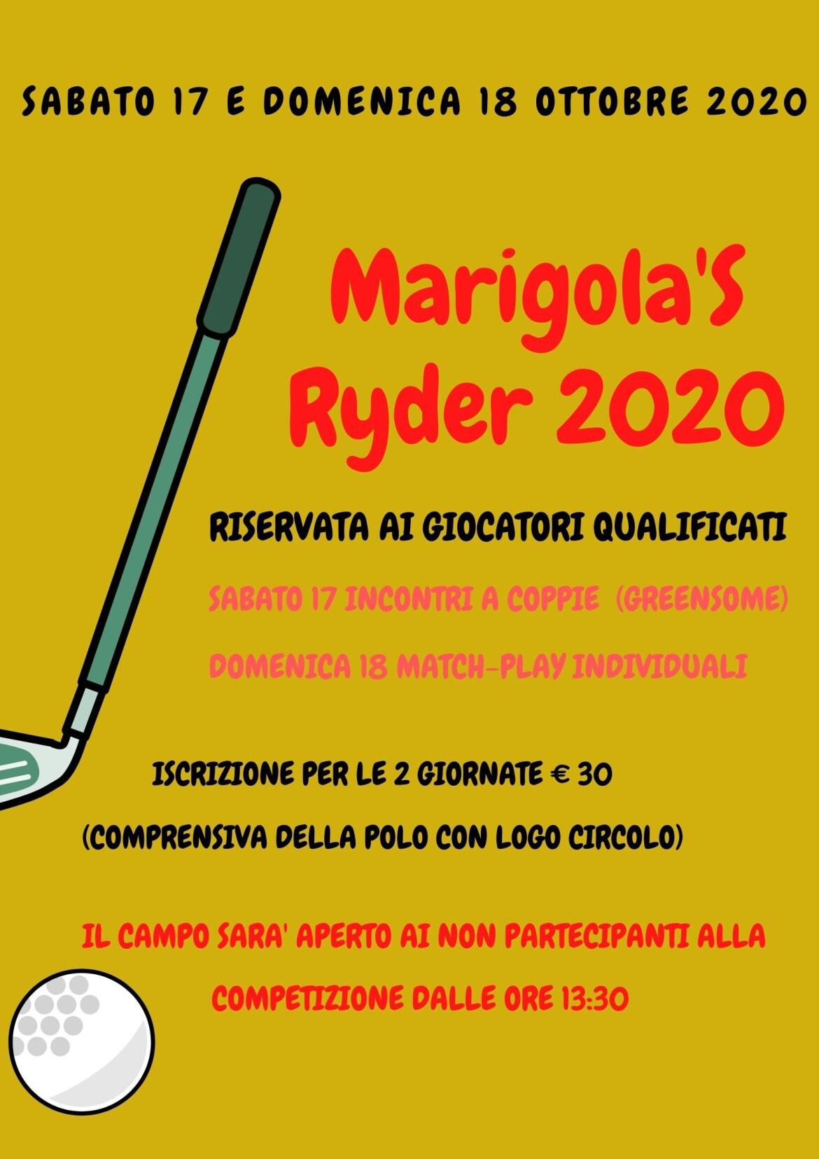 Marigola's Ryder 2020