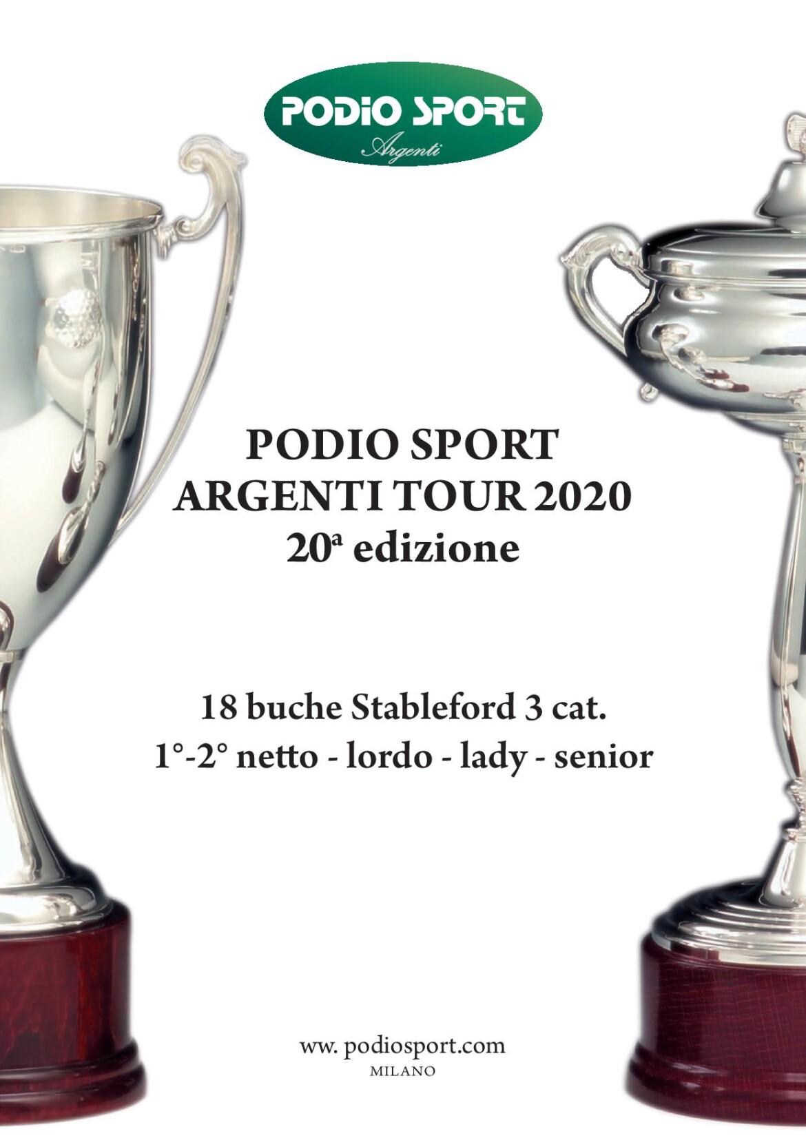 PODIO SPORT ARGENTI TOUR 2020