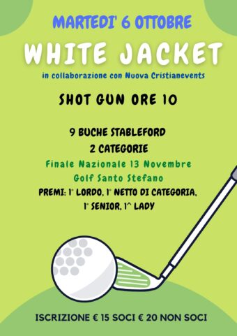 White Jacket – by Nuova Cristianevents