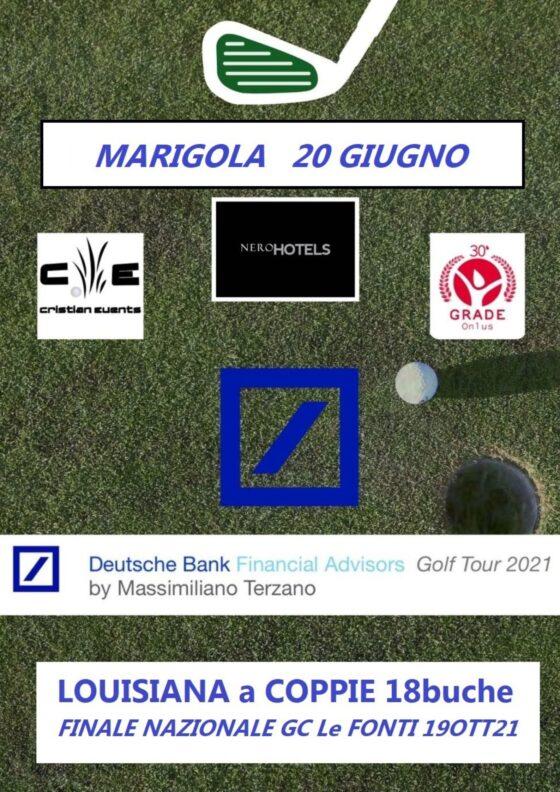 DEUTSCHE BANK FINANCIAL ADVISORS GOLF TOUR 2021 by Massimiliano Terzano