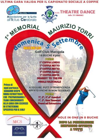 1° MEMORIAL MAURIZIO TORRI – domenica 5 settembre