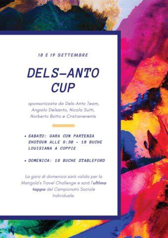 DELS-ANTO CUP sabato 18 e domenica 19 settembre