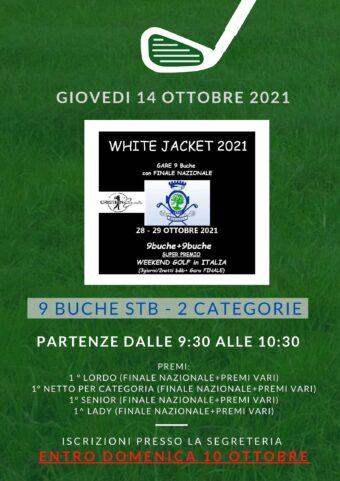 WHITE JACKET by Nuova Cristianevents – 14 ottobre 2021